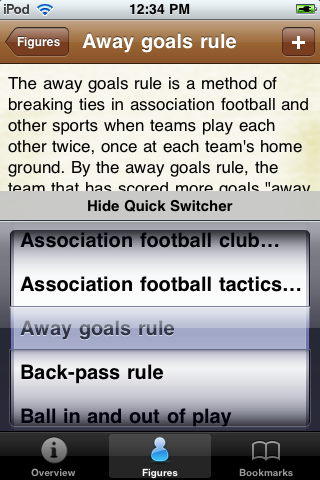 Soccer Terms screenshot #4