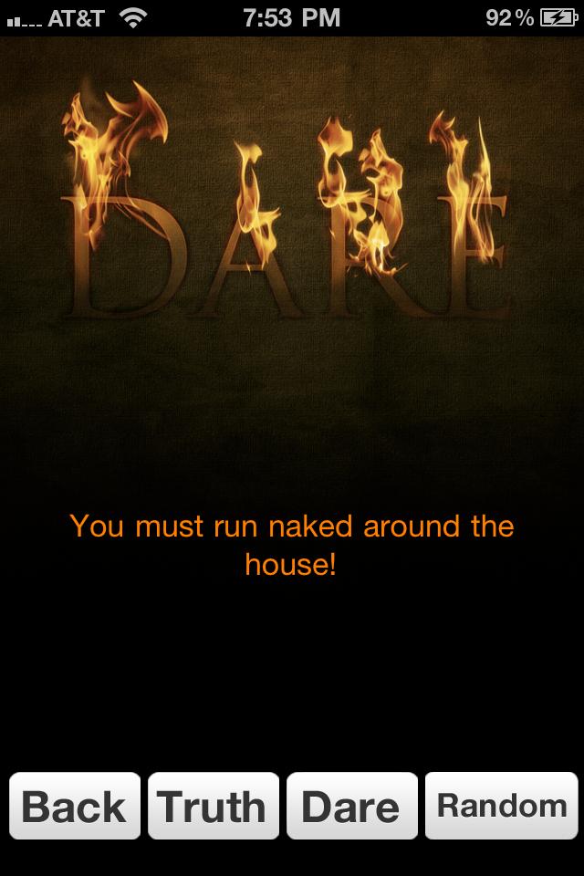 Simple Truth or Dare screenshot #1
