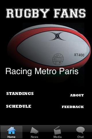 Rugby Fans - Racing Metro Paris screenshot #1