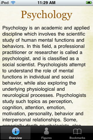Psychology Terms Pocket Book screenshot #1