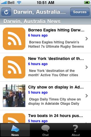 Darwin, Australia News screenshot #1