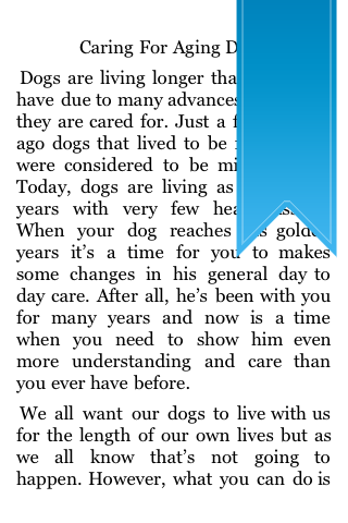 Caring For Aging Dogs screenshot #5