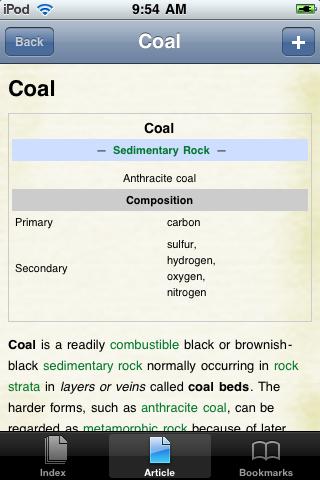 Coal Study Guide screenshot #1