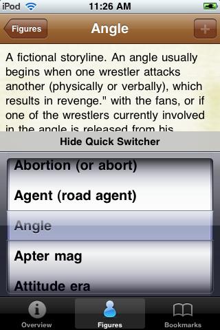 Pro Wrestling Terms Pocket Book screenshot #4