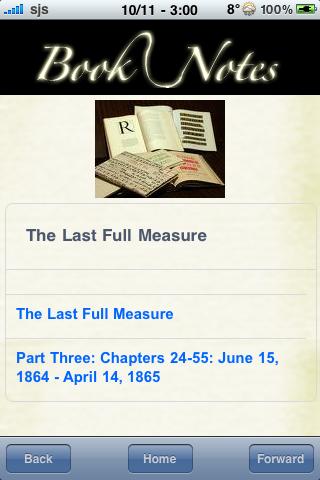Book Notes - The Last Full Measure screenshot #3