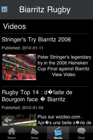 Rugby Fans - Biarritz screenshot #3