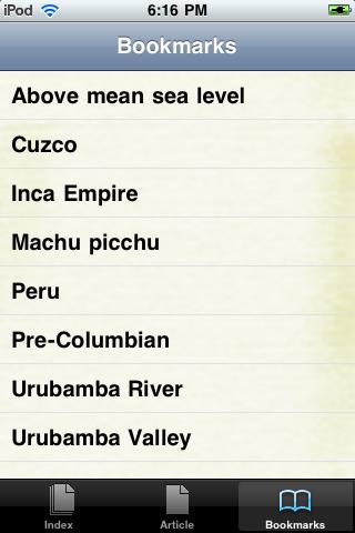 Machu Picchu Study Guide screenshot #3