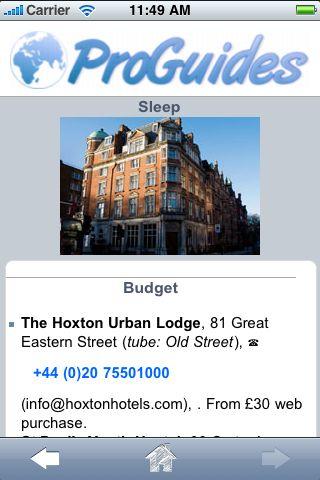 ProGuides - London screenshot #2