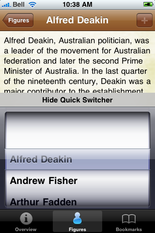 Prime Ministers of Australia Pocket Book screenshot #4
