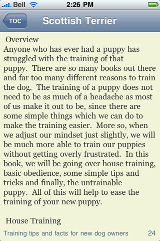The Scottish Terrier Book screenshot #3