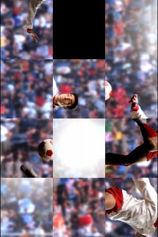 Football Player Slide Puzzle screenshot #3