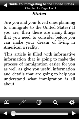 Guide to Immigrating to the United States screenshot #2