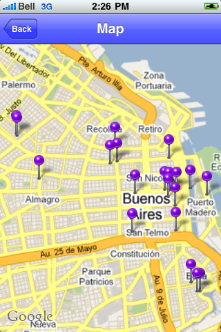 Buenos Aires Sights screenshot #1
