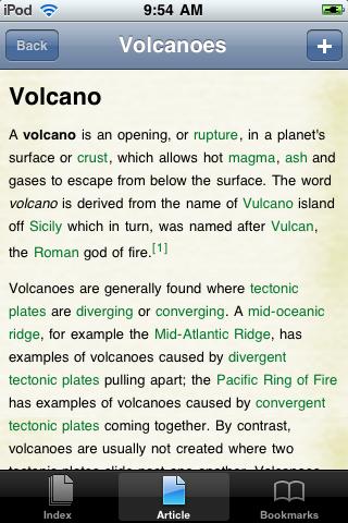 Volcanoes Study Guide screenshot #1