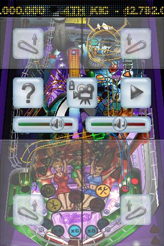 ZEN Pinball Rollercoaster screenshot #1