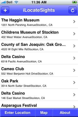 Stockton, California Sights screenshot #2