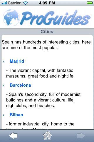 ProGuides - Spain screenshot #2