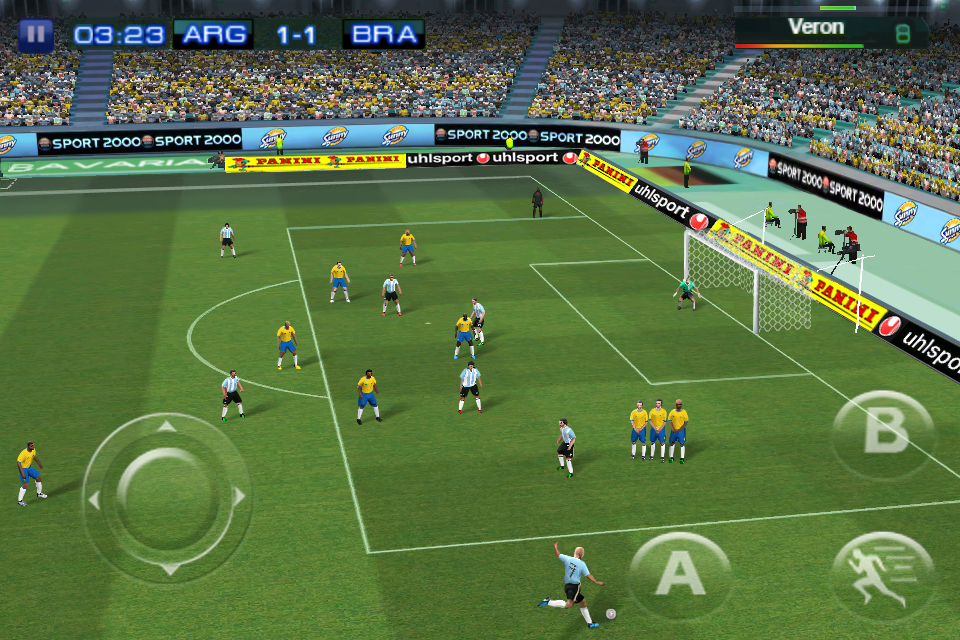 Real Football 2011 FREE screenshot #3