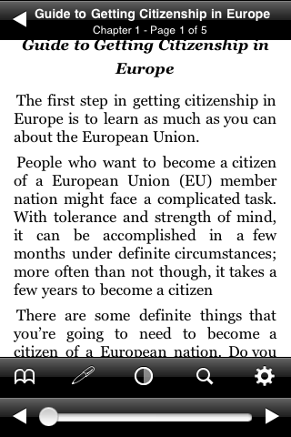 Guide to Getting Citizenship in Europe screenshot #2