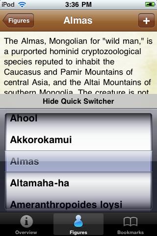 Cryptids Pocket Books screenshot #4