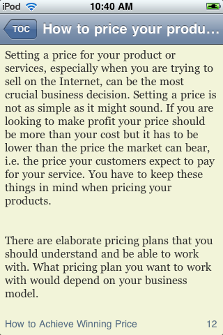 How to Price Your Products or Service Just Right screenshot #3
