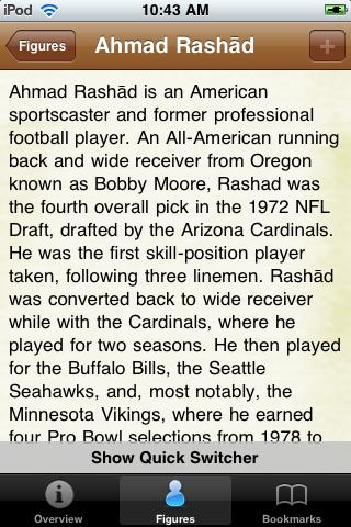 All Time Buffalo Football Roster screenshot #2