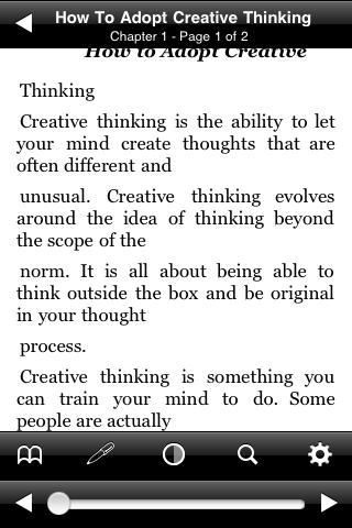 How To Adopt Creative Thinking screenshot #3