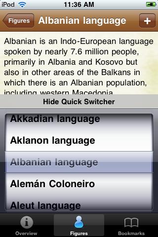 Languages of the World Pocket Book screenshot #3
