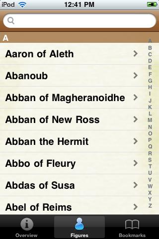 Saints Pocket Book screenshot #2
