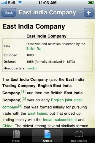 The East India Company Study Guide screenshot #1