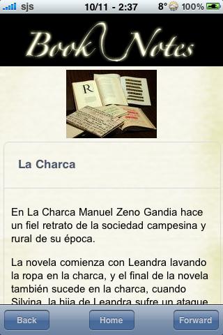 Book Notes - La Charca screenshot #3