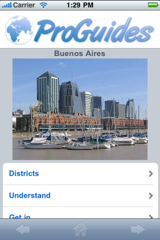 ProGuides - Buenos Aires screenshot #1