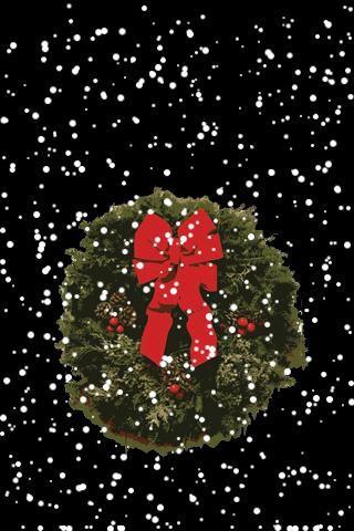 Christmas Wreath Snow Globe screenshot #1