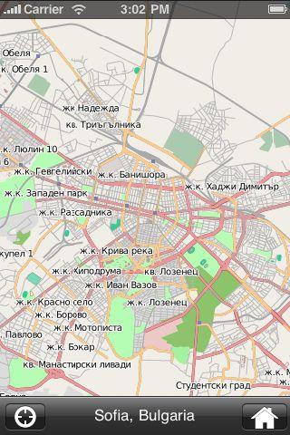 iMapsPro - Sofia screenshot #1
