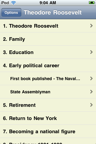 Theodore Roosevelt - Just the Facts screenshot #1