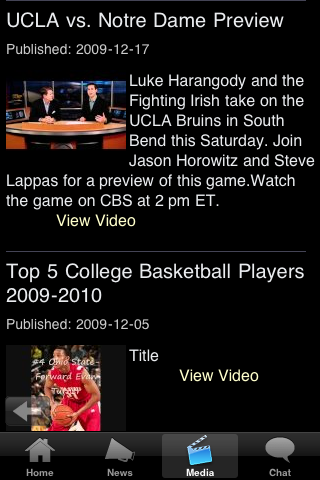 Notre Dame College Basketball Fans screenshot #5