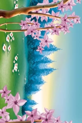 Spring Forest Slide Puzzle screenshot #1