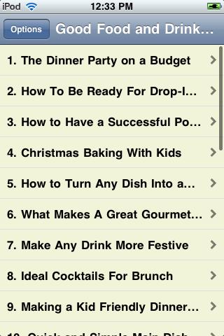 Good Food and Drink Ideas screenshot #2