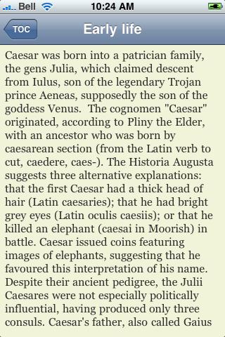 Julius Caesar screenshot #3