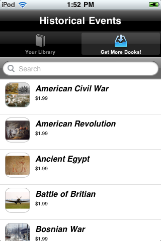 Historical Events screenshot #4