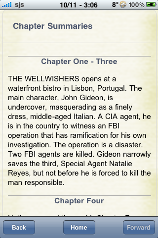 Book Notes - The Wellwishers screenshot #2