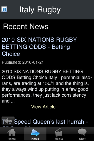 Rugby Fans - Italy screenshot #2