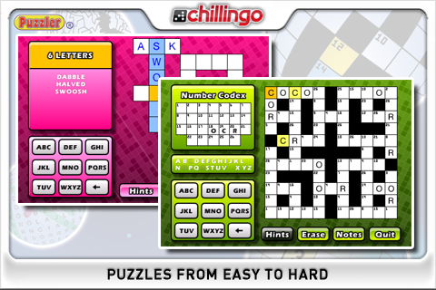 Puzzler World UK Lite screenshot #2