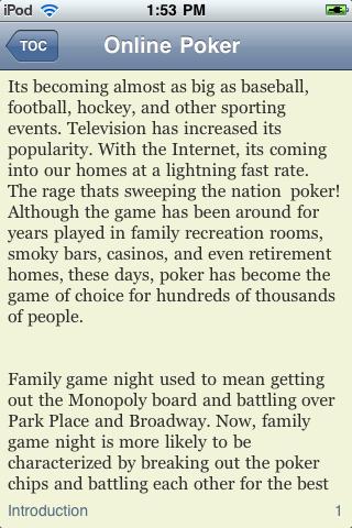 Online Poker screenshot #2