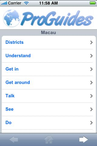ProGuides - Macau screenshot #1