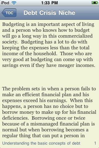 Debt Crisis screenshot #1