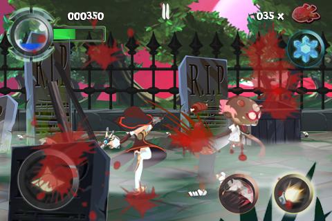 Twin Blades Lite screenshot #3