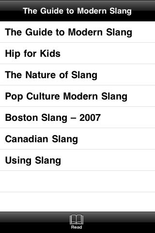 The Guide to Modern Slang screenshot #3