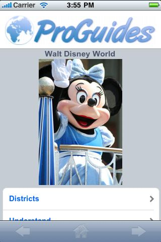 ProGuides - Disney World screenshot #1