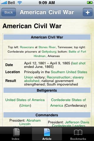 American Civil War Study Guide screenshot #1